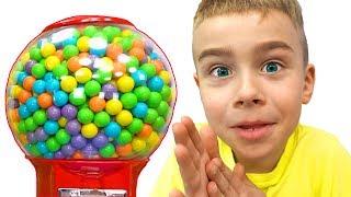 Вредные сладости - история для детей