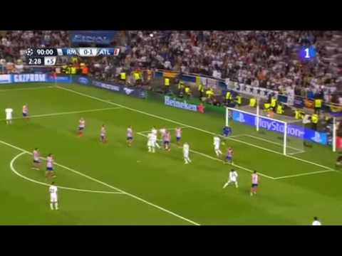 Gol do Sérgio Ramos no último minuto chora atlético