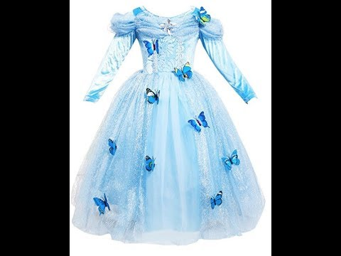 81581953802 Dress CINDERELLA Robe Déguisement Cendrillon La SSara - YouTube