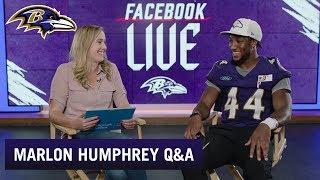 Marlon Humphrey Q&A  | Baltimore Ravens