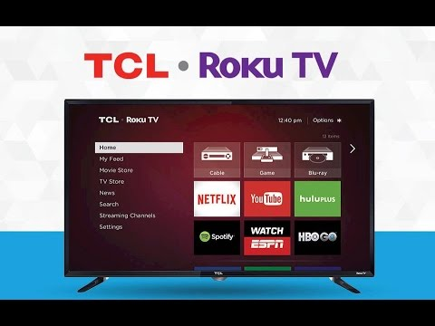 "tcl roku tv 40"" model 40fs3750, set up. new refurbished 2016. part 2"