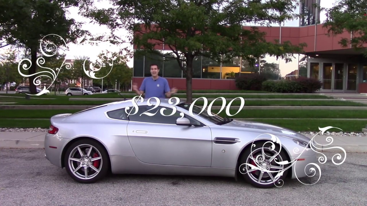 Here's What It Cost Me to Own an Aston Martin For a Year