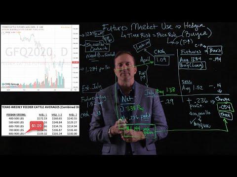 Futures Market Hedging - Example Buyer of Feeder Cattle