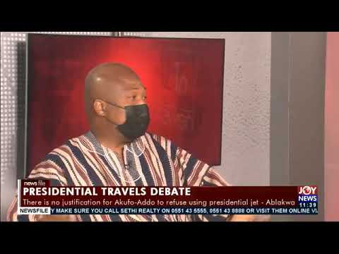 Presidential travels: Did you have to go with such a luxurious monster? - Ablakwa asks Akufo-Addo