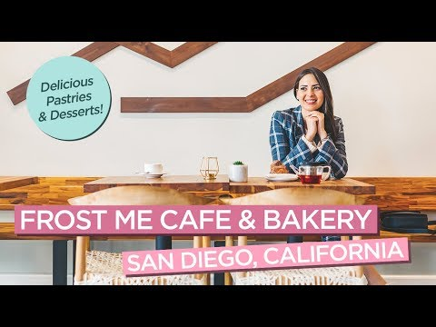Frost Me Cafe & Bakery In San Diego, California - Cupcake Wars Champion!