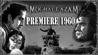 mughal e azam premiere 1960   un seen clip of mughal e azam