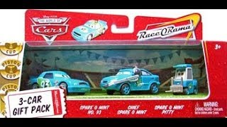Every single Disney Cars 3-car pack from 2007-2010