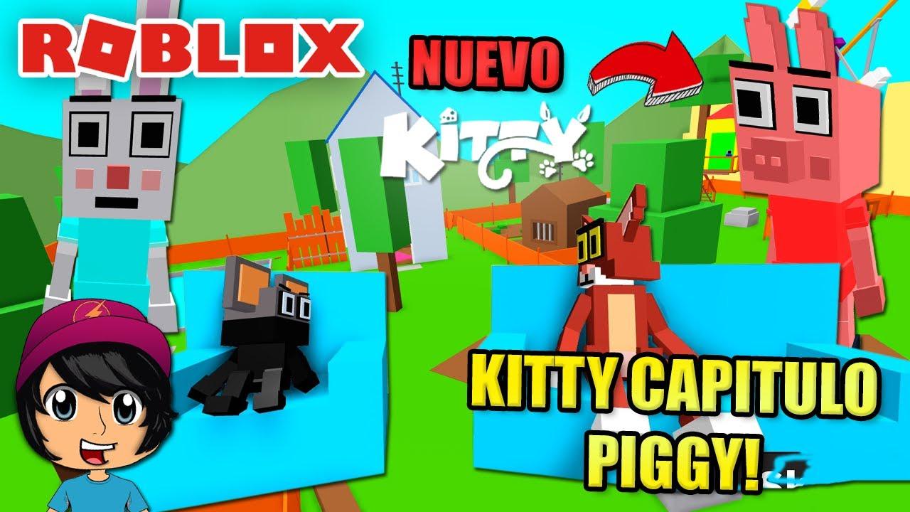 KITTY EN LA CASA DE PIGGY! CAPITULO NUEVO 3! | Soy Blue | Kitty Roblox Español