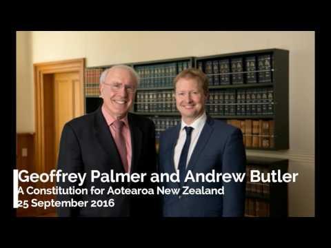 Sir Geoffrey Palmer QC and Andrew Butler, RNZ Interview 25 September 2016