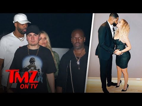 Khloe & Tristan Hit The Town Without Baby True | TMZ TV