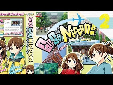 Go Go Nippon! My First Trip To Japan! - Geography Lesson and Train System - Part 2