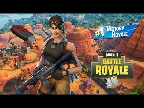 Crazy Ar Aim, Xim Apex Gameplay... Fortnite Battle Royale