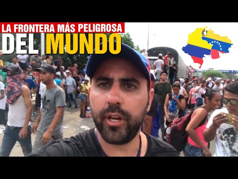 Cruzando la Frontera de Venezuela a Colombia