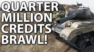 A brawl worth a quarter million credits..