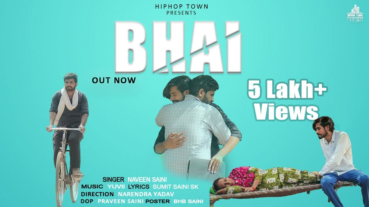 BHAI : Naveen Saini | (Official Full Video)  Yuvii | Sumit Saini Sk | New Haryanvi Song 2020