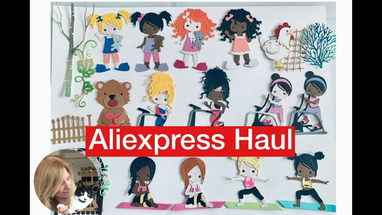 Aliexpress Haul // CatLove Store Dies with Samples // Small Giveaway