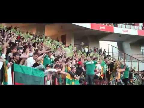 Anzhi Makhachkala v Genk fulltime- FC Anji Makhachkala fans 20.02.2014