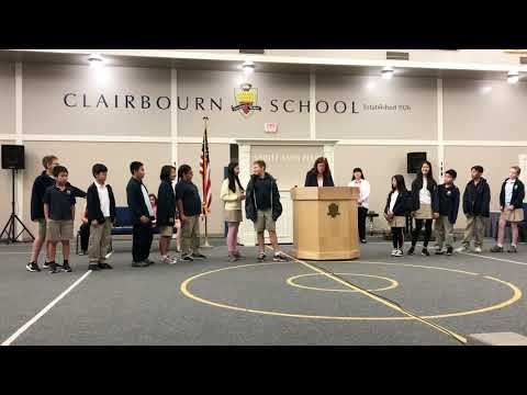 Clairbourn School Intermediate Strings And Band Music Awards - 2019