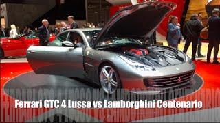 Ferrari GTC 4 Lusso 2016 vs Lamborghini Centenario 2016