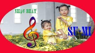 karaoke - Bé tập đánh răng - nhạc beat Su Mi