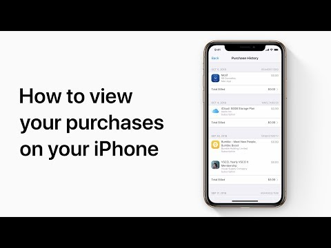 How To View Your Purchases On Your IPhone — Apple Support