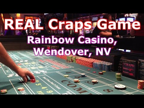 REAL Craps Game - Rainbow Casino, Wendover, NV