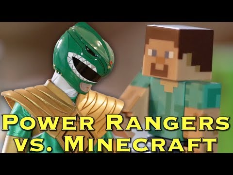 FAN FILM: Power Rangers vs. Minecraft - feat. Damien Studios