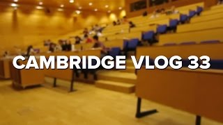 Cambridge Vlog 33 | Last Lecture Before Exams