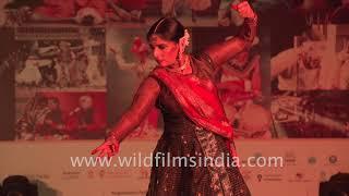 Dance of Durga by Rachna Yadav at Delhi International Arts Festival - Poorna Kalash Kumbh