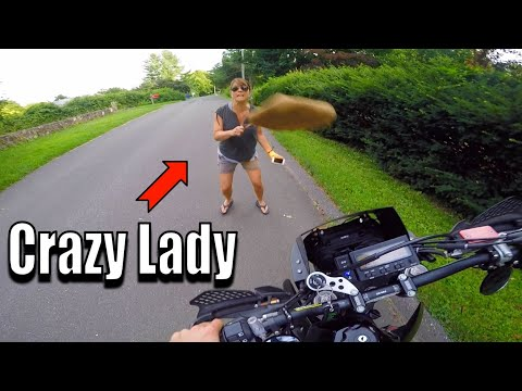 crazy-lady-vs-dirt-bike