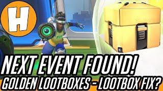 Overwatch - GOLDEN Loot Box, EVENT 7 Found! Broken Loot Fix Incoming? | Hammeh