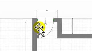 Как программой Visio начертить план комнаты  Часть 1