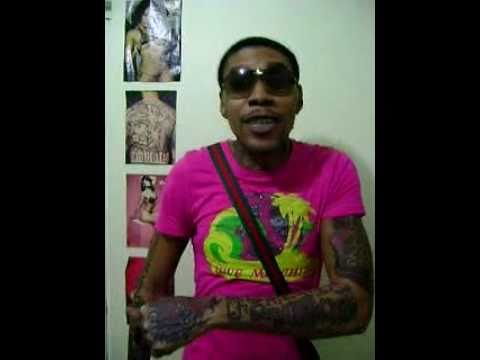 Vybz Kartel 2011 Colouring Book Tattoo Time