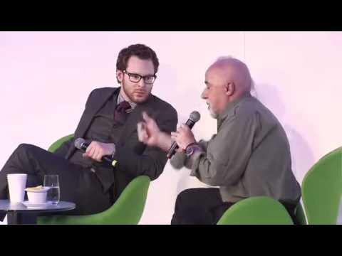 DLD 2011 Disruption Talk with Paulo Coelho and Sean Parker