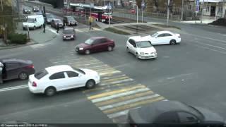 ДТП на ул Тургенева и ул Калинина 08 11 15