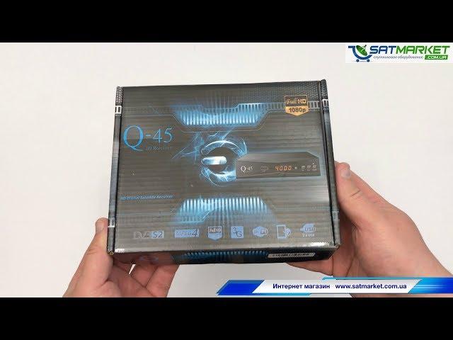 Видео обзор Q-SAT Q-45