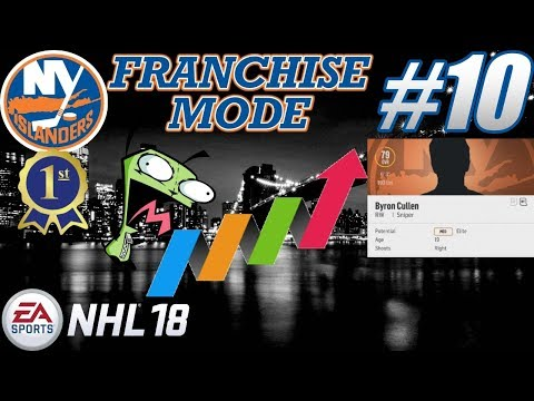 "NHL 18 Franchise Mode - New York Islanders #10 ""1st Place - MASSIVE Growth"""