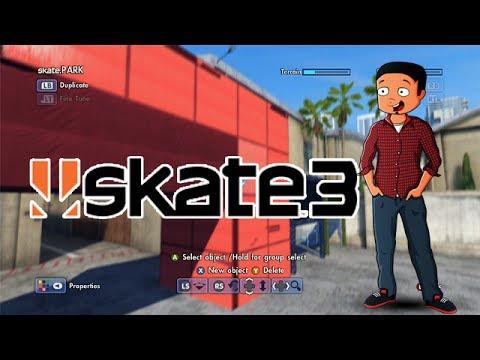 X7 Albert Fantasy Factory - Episode 2 (Skate 3 Park Builder)