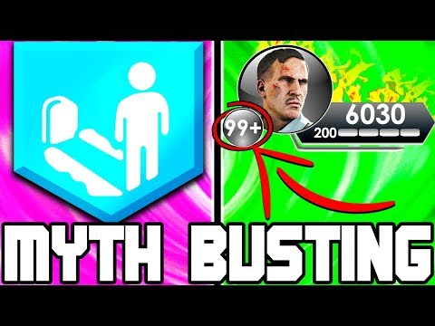 UNLIMITED SELF REVIVES!!! // | BLACK OPS 4 ZOMBIES | MYTH BUSTING MONDAYS #1