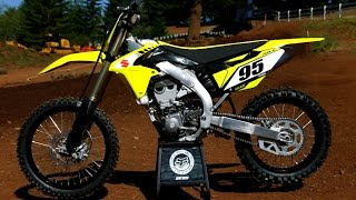 2017 Suzuki Rmz 450 Dirt Bike Magazine Youtube