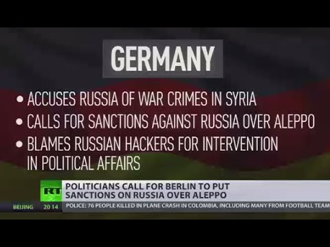Guilty by Association: Politicians call for Berlin to put sanctions on  Russia over Aleppo