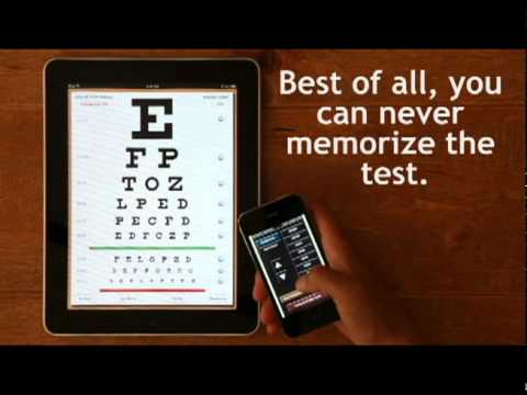 Eye Chart Pro Available For Ipad Youtube