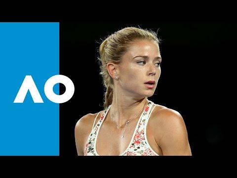 Camila Giorgi takes the second set (3R) | Australian Open 2019