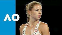 Camila Giorgi takes the second set (3R) | Australian Open 2019