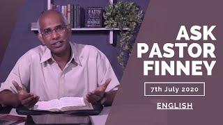 [ENGLISH] Ask Pastor Finney || 7-July-2020 || Season - 2