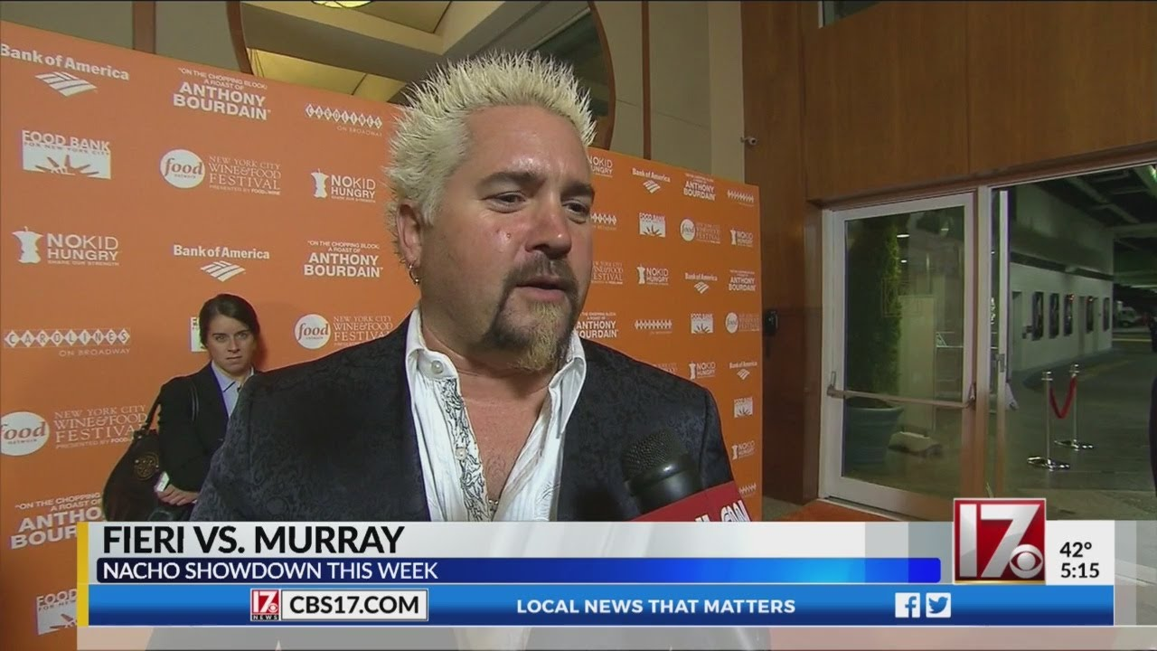 Here's Who Won the Guy Fieri-Bill Murray Nacho Showdown to Aid ...