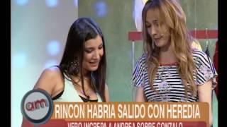 Repeat youtube video Andrea Rincón Habla de Heredia - AM