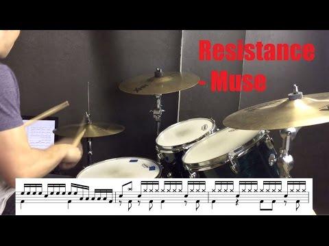 Resistance Drum Tutorial - Muse
