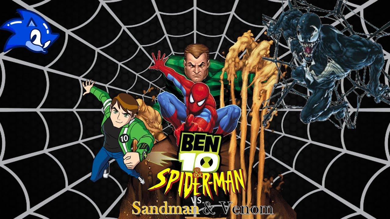 Download Ben 10 & Spider-Man vs Sandman & Venom Intro