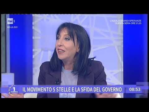 Anna Macina ospite a Uno Mattina Rai1 30-04-2019